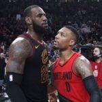 NBA – LeBron James voulait faire venir Damian Lillard à Cleveland