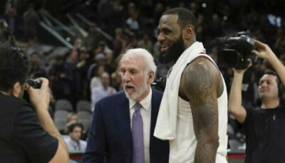 NBA – La grande prédiction de Gregg Popovich sur LeBron James