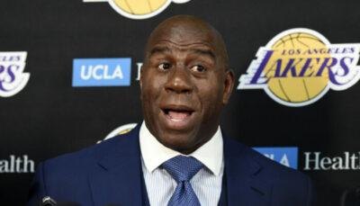 NBA – Les étonnantes prédictions de Magic Johnson pour le MVP