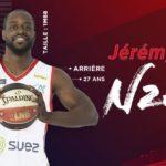 Jeep®  Élite – Transferts : Strasbourg engage Jérémy Nzeulie !