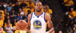 NBA – Warriors : Andre Iguodala vise un retour pour le Game 3