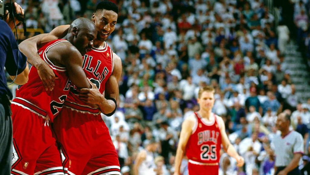 Jordan Michael Flu Game