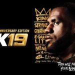 Jeux vidéos – Pour les 20 ans du jeu, LeBron James sera sur la couverture de NBA 2K19