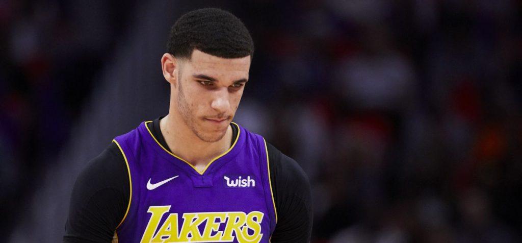 Lonzo Ball sous le maillot des Lakers