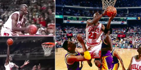 Michael Jordan The Move 1989
