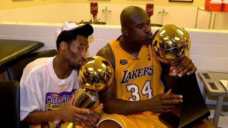 Kobe Bryant Shaquille O'Neal titre NBA 2003