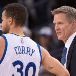 NBA – Steve Kerr sur la performance de Stephen Curry « Il a été fantastique »