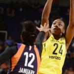 WNBA – Les résultats de la nuit (01/08/2018) : Phoenix retrouve la victoire, le Sun sur sa lancée