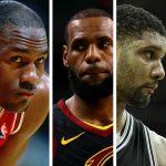 NBA – Le 5 All-Time de notre communauté Facebook