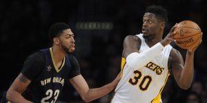 NBA – Anthony Davis impatient de faire équipe avec Julius Randle