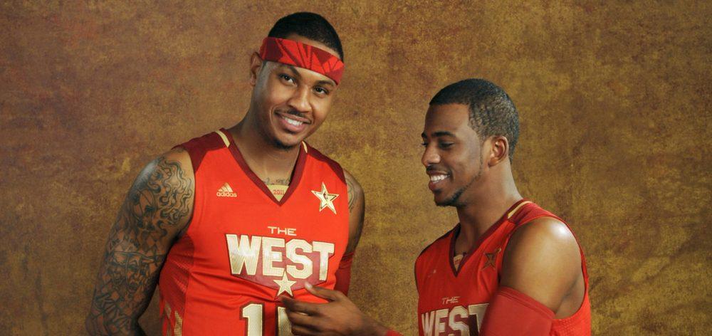 NBA - Chris Paul ferait le forcing pour faire venir Carmelo Anthony