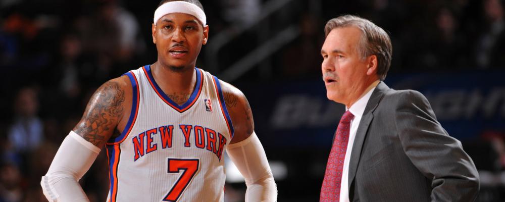 NBA - En 2012, Mike D'Antoni a démission des Knicks à cause de Carmelo Anthony
