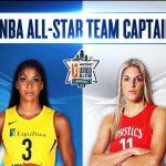 WNBA – Les capitaines des équipes All Star dévoilées
