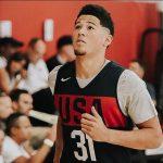 Team USA – Devin Booker a profité du mini-camp pour s'inspirer «des légendes» de la NBA