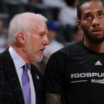 NBA – Le clan Kawhi Leonard pas réglo avec Gregg Popovich ?