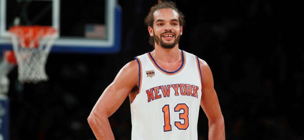Joakim Noah sous le maillot des Knicks