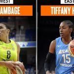 WNBA – Tiffany Hayes et Liz Cambage joueuses de la semaine