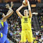 WNBA – Les résultats de la nuit (14/07/2018) : Seattle retrouve le chemin de la victoire
