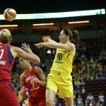 WNBA – Les résultats de la nuit (08/07/2018) : Phoenix chute, Seattle en profite !