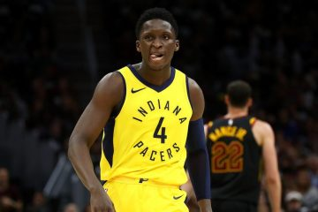 VIctor Oladipo sous le maillot des Pacers.