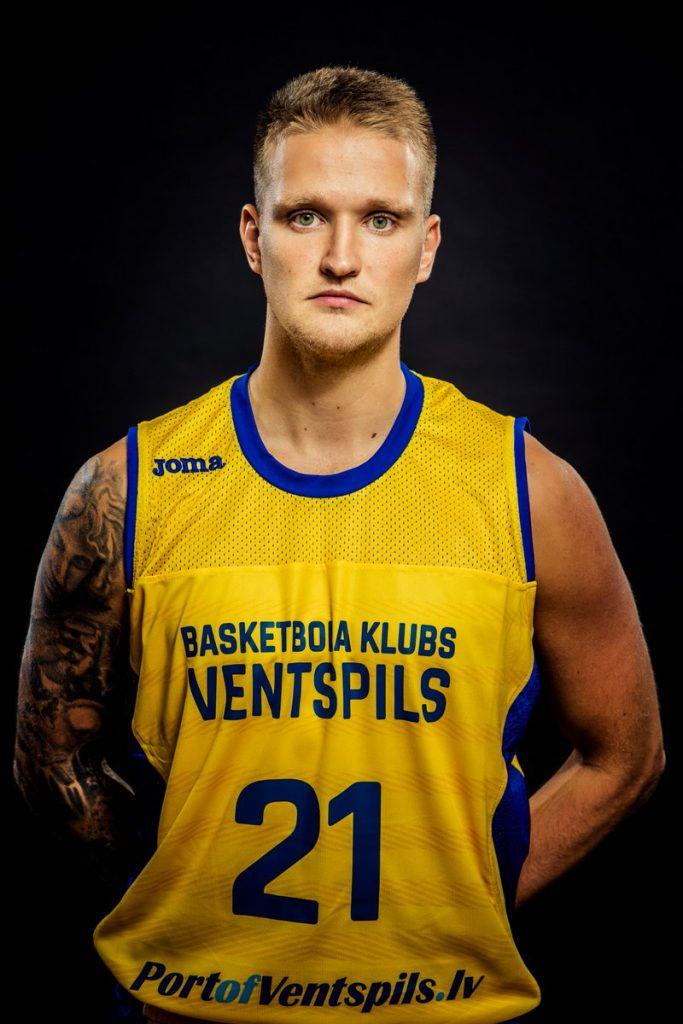 Aigars Skele sous le maillot de Ventpils