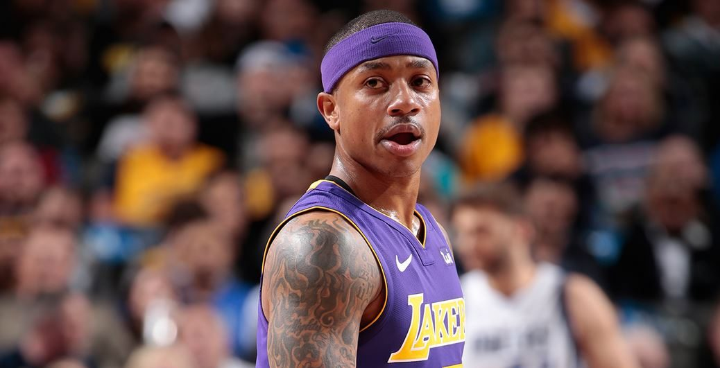 Isaiah Thomas sous le maillot des Lakers