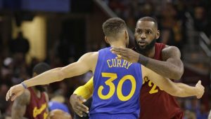NBA – LeBron félicite chaleureusement Steph Curry