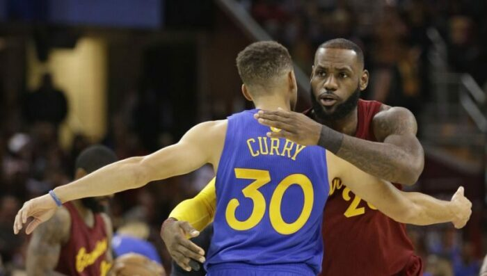 Steph Curry LeBron James