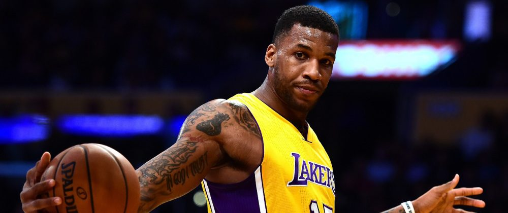 Thomas Robinson sous le maillot des Los Angeles Lakers