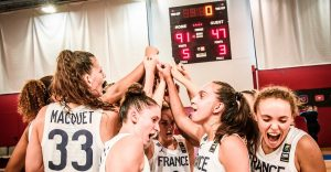 EurobasketWomen U18 – La France valide son ticket pour les quarts en battant la Bosnie
