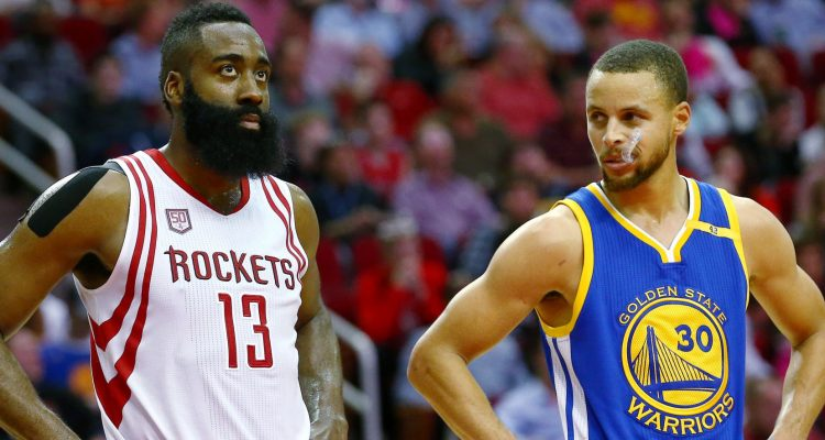 James Harden et Stephen Curry