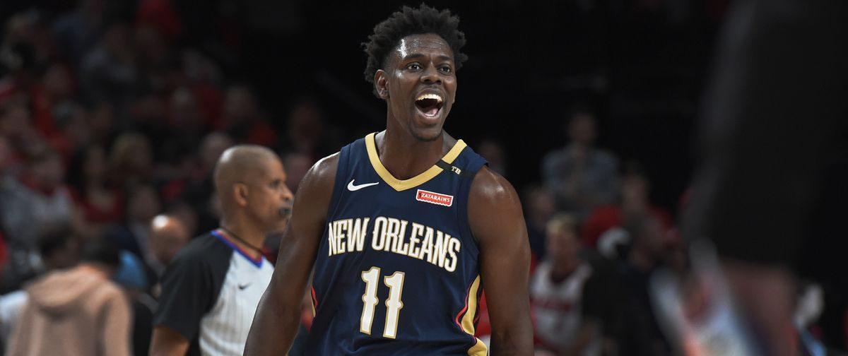 Jrue Holiday sous le maillot des New Orleans Pelicans