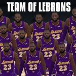 NBA 2K – 5 LeBron(s) contre la ligue, qui gagne le titre ?