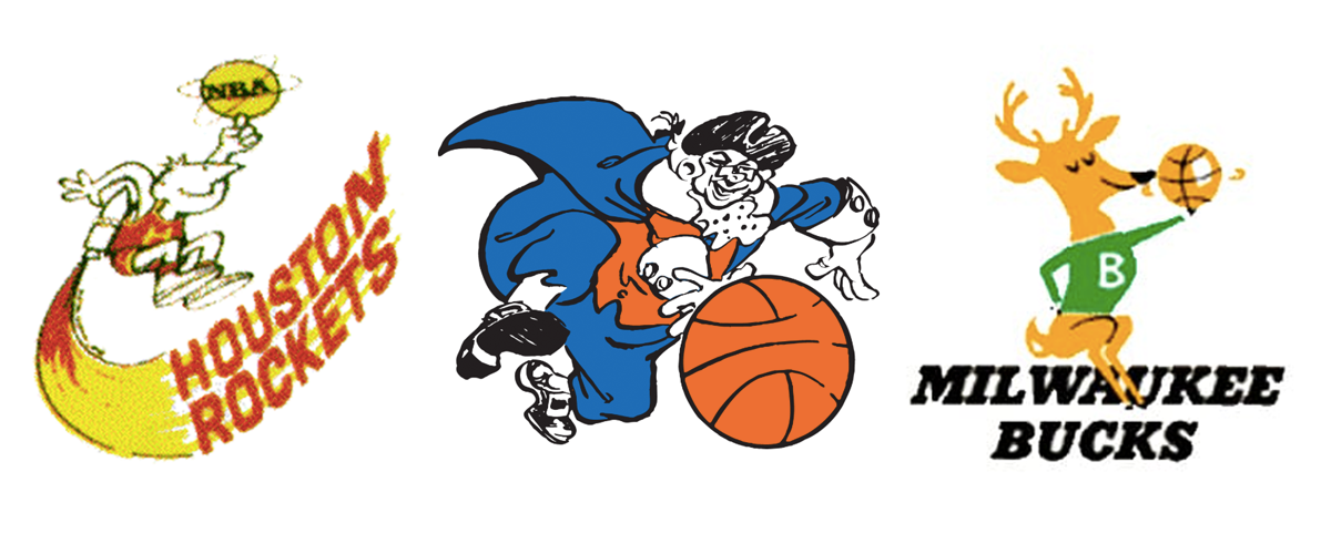 Premiers logos des équipes NBA
