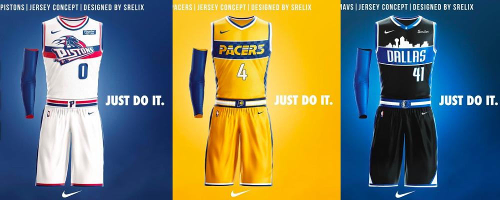 ee6dd91b7b3cf NBA – Un fan imagine une superbe collection de maillots rétros (2/2)