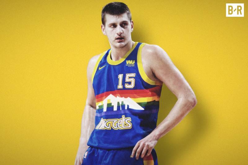 Nikola Jokic sous le maillot des Nuggets