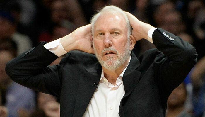 NBA Gregg Popovich dévasté