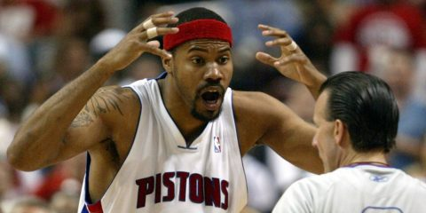 Rasheed Wallace expulsion en carrière