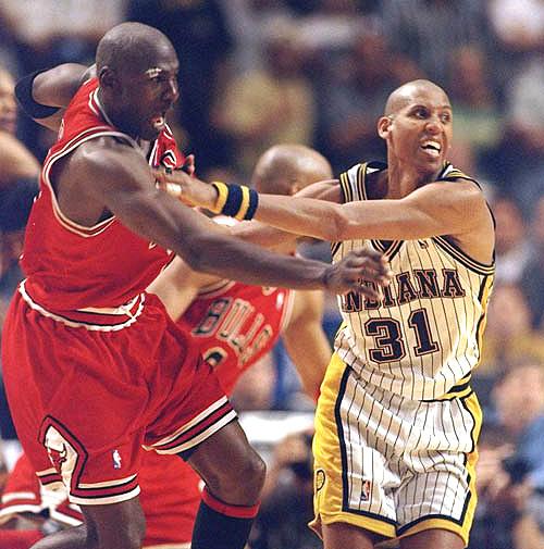 Michael Jordan Reggie Miller rivalité