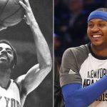 NBA – Knicks : Pour Walt Frazier, le maillot de Carmelo Anthony ne sera pas retiré
