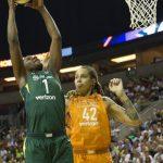 WNBA – Les résultats de la nuit (28/08/2018) : Seattle s'envole, Atlanta recolle