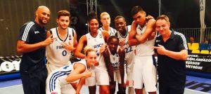 EDF (F) – 3×3 : Les Bleues championnes d'Europe