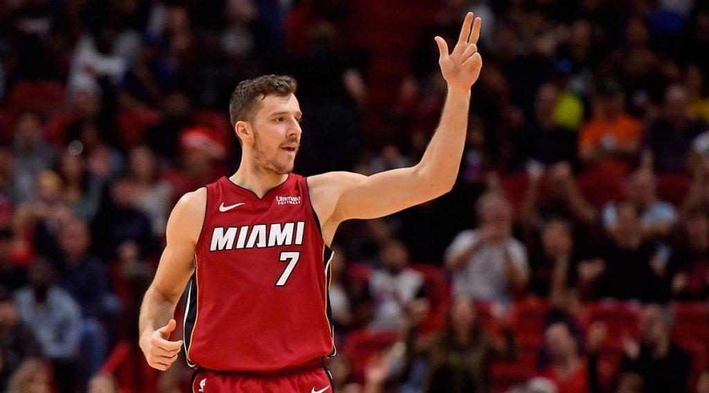 Goran Dragic avec le Miami Heat