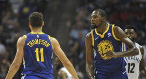 NBA – Quand KD était jaloux du traitement réservé à Klay Thompson