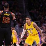 NBA – La bonne leçon de LeBron James à Kyle Kuzma