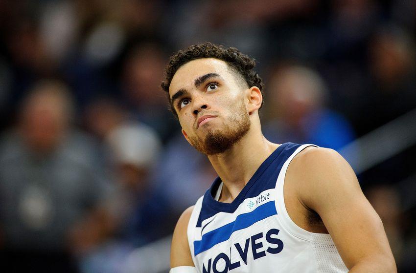Tyus Jones sous le maillot des Timberwolves
