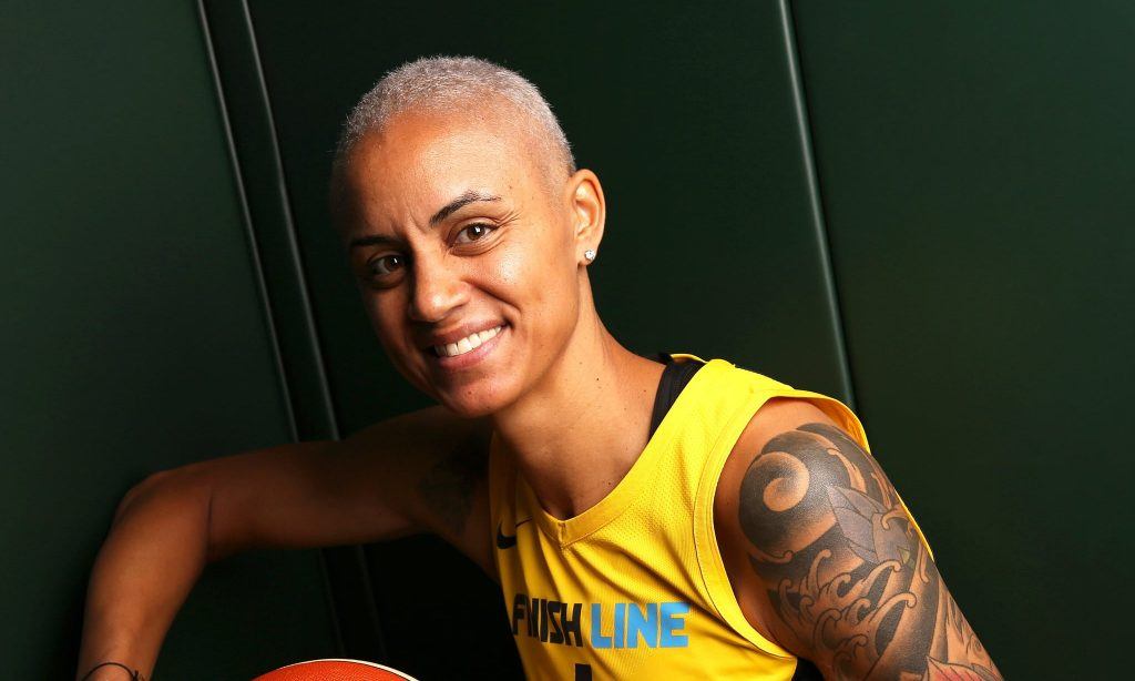 Candice Dupree sous le maillot d'Indiana