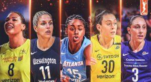 WNBA – Les deux cinq majeurs de la saison dévoilés