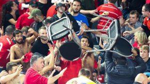 Divers – Enorme bagarre lors d'un match de Ligue des Champions en Belgique