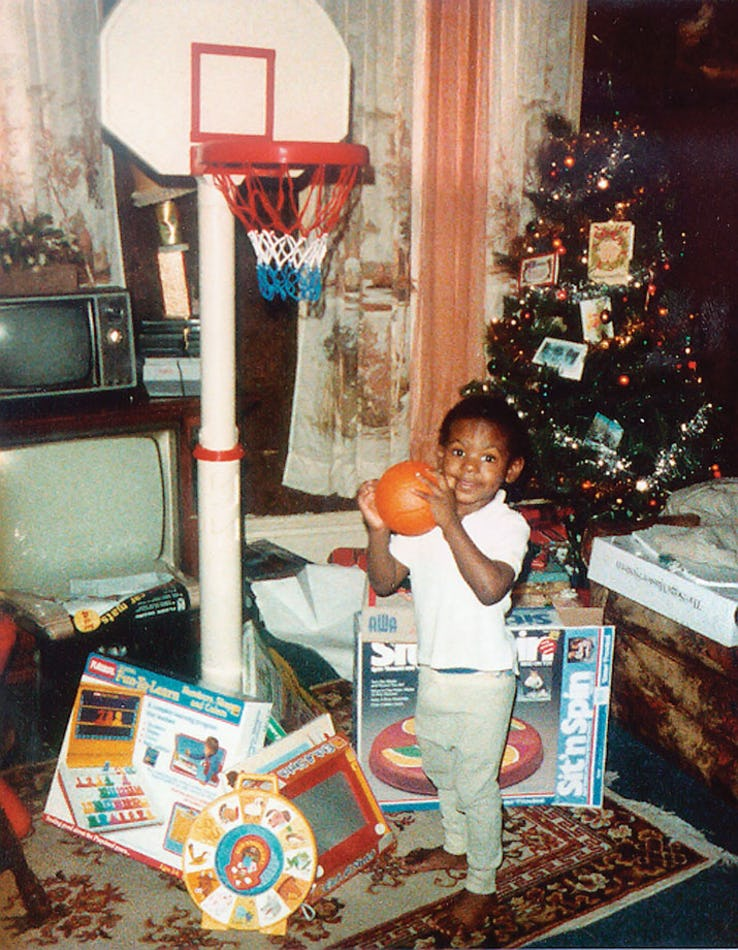 LeBron James, enfant.